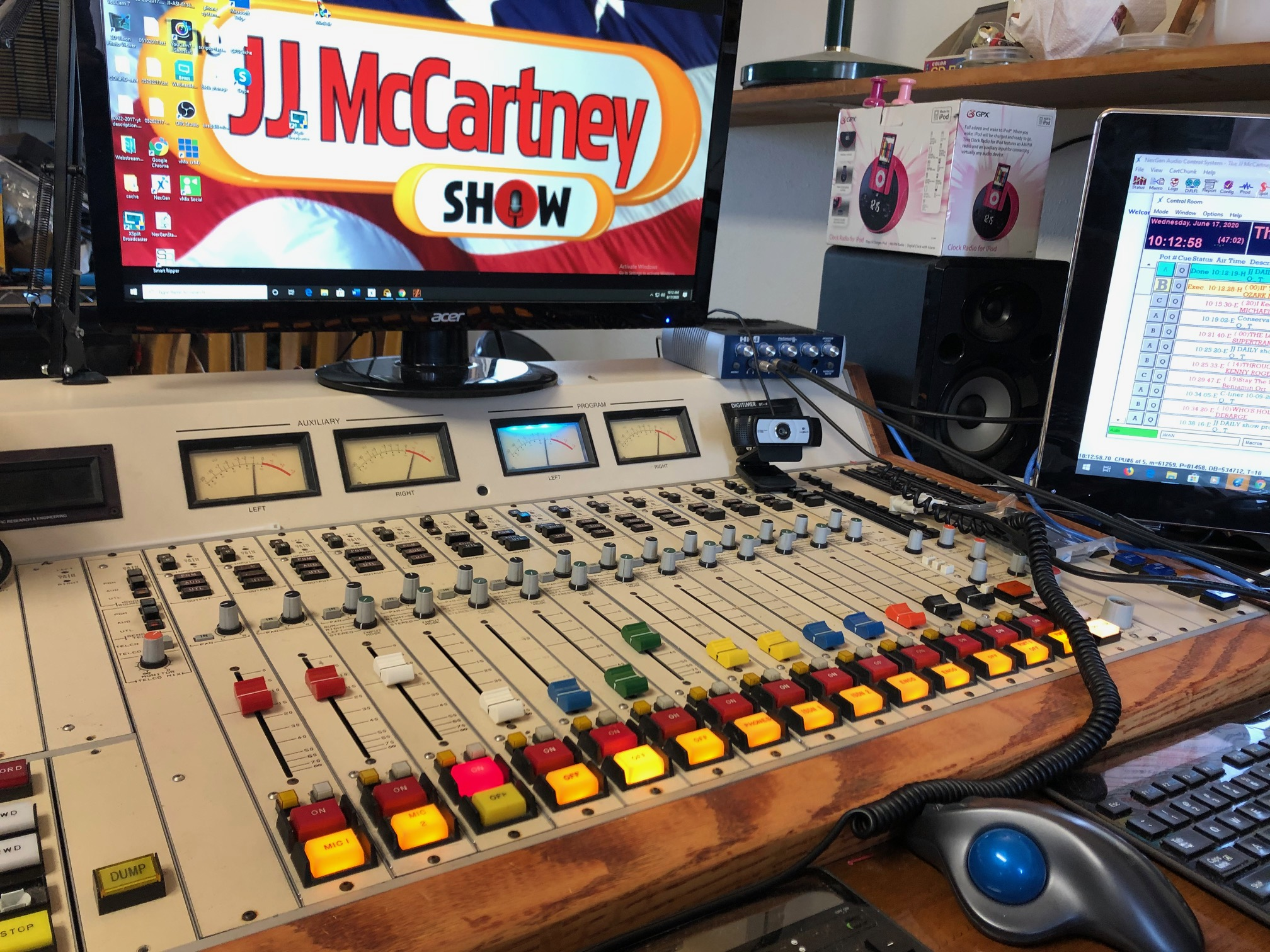 ONE WEEK TO GO: Tuesday October 27th 2020: JJ McCartney is LIVE 3-5pm ET